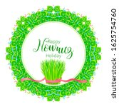 vector happy nowruz holiday... | Shutterstock .eps vector #1625754760