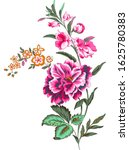 digital printing flowers and... | Shutterstock . vector #1625780383