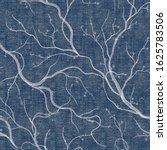 denim floral seamless pattern... | Shutterstock .eps vector #1625783506