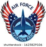 Eagle Fighter Jet Plane. The...