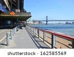 Manhattan Bridge In New York...