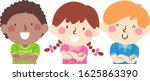 illustration of kids students... | Shutterstock .eps vector #1625863390