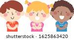 illustration of kids students... | Shutterstock .eps vector #1625863420