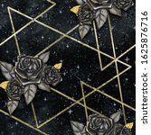 Geometric Galaxy Background...