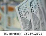 pile of one hundred us dollar... | Shutterstock . vector #1625912926