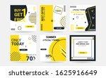 fashion set social media banner ... | Shutterstock .eps vector #1625916649