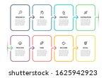 vector infographic thin line...   Shutterstock .eps vector #1625942923