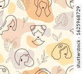 seamless vector pattern with... | Shutterstock .eps vector #1625968729