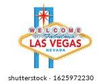 las vegas sign vector... | Shutterstock .eps vector #1625972230