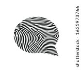 fingerprint comments icon....