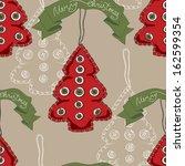 vector christmas pattern....   Shutterstock .eps vector #162599354