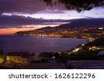 Panoramic Night View Of Sanrem...