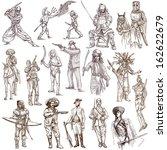 soldiers  warriors and heroes ... | Shutterstock . vector #162622679