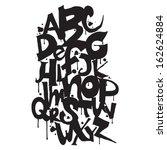 alfabe,sanat,sanatsal,siyah,fırça,hat sanatı,karakter,koleksiyonu,yaratıcı,dekoratif,çizim,eğitim,öğe,yazı tipi,grafiti
