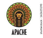 apache | Shutterstock .eps vector #162625190