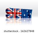 3d vector sydney  australia ... | Shutterstock .eps vector #162627848