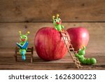 green worms are made of... | Shutterstock . vector #1626300223