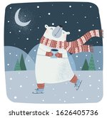 Cute Vector Illustration Of A...