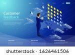 feedback or rating concept....   Shutterstock .eps vector #1626461506