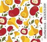 seamless pattern with bright...   Shutterstock .eps vector #1626521209