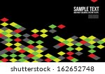 abstract colorful triangle... | Shutterstock .eps vector #162652748