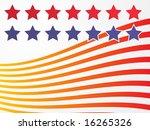 stars and stripes illustration... | Shutterstock .eps vector #16265326