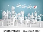 merry christmas and happy new... | Shutterstock . vector #1626535480