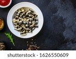 Pasta Farfalle Cuttlefish Ink ...