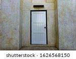 Background Of Old Wooden Doors...