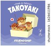 vintage japanese food poster...   Shutterstock .eps vector #1626611986