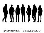 vector silhouettes of  men and... | Shutterstock .eps vector #1626619270