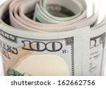 the new u.s. 100 dollar bill | Shutterstock . vector #162662756