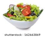 mixed vegetables   Shutterstock . vector #162663869