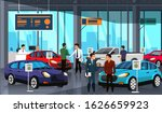 sellers potential buyers group... | Shutterstock .eps vector #1626659923