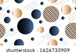 gold and blue luxury background ... | Shutterstock .eps vector #1626733909