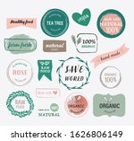 natural and organic label... | Shutterstock .eps vector #1626806149