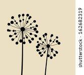 floral elements for design ... | Shutterstock .eps vector #162682319