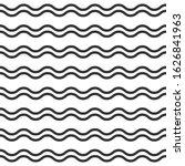 wavy lines. seamless texture... | Shutterstock .eps vector #1626841963