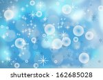 christmas snowflakes background | Shutterstock . vector #162685028