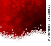christmas background with... | Shutterstock . vector #162688619