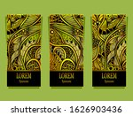 set of templates luxury product ... | Shutterstock .eps vector #1626903436