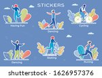 recreational pursuit flat... | Shutterstock .eps vector #1626957376