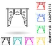 cinema curtains multi color...
