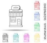 bakery shop multi color style...
