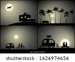 Set Of Vector Illustration With ...