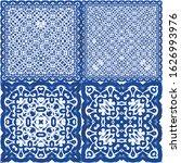ethnic ceramic tiles in...   Shutterstock .eps vector #1626993976