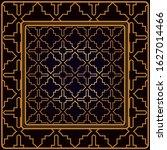 festive colorful geometric... | Shutterstock . vector #1627014466