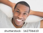 close up portrait of a smiling... | Shutterstock . vector #162706610