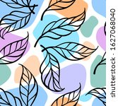 abstract colotful floral... | Shutterstock .eps vector #1627068040