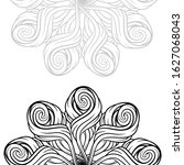 vector abstract black and white ... | Shutterstock .eps vector #1627068043